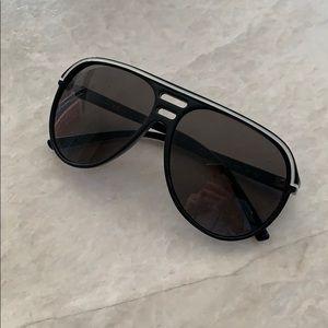 Dirk Bikkembergs Black Men's Sunglasses